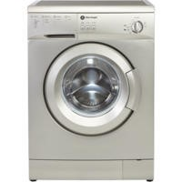 White Knight WM105VS 5kg 1000rpm Freestanding Washing Machine Silver