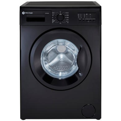 White Knight WM126VB3 6kg 1200rpm Freestanding Washing Machine - Black