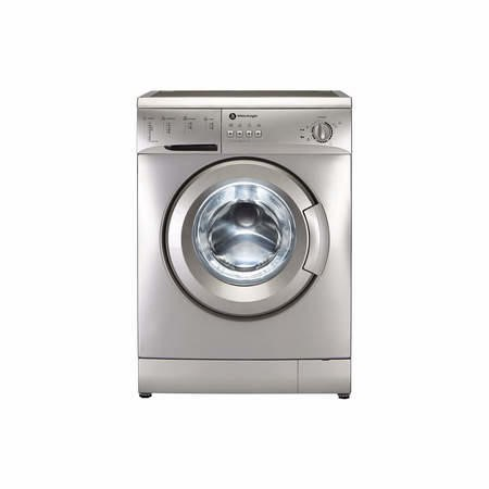 White Knight WM126VS 6kg 1200rpm Freestanding Washing Machine Silver