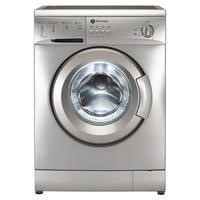 White Knight WM126VS 6kg A+ Freestanding Washing Machine Silver
