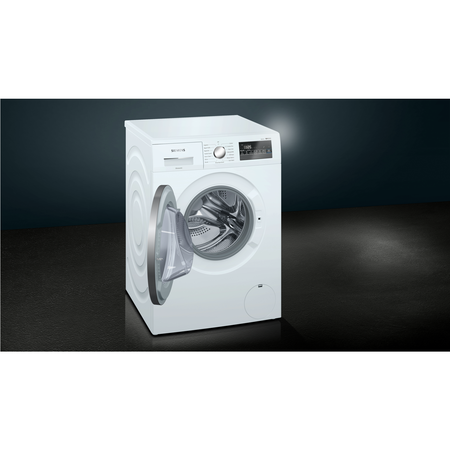 Siemens WM14N201GB iQ300 8kg 1400rpm Freestanding Washing Machine With Quiet Brushless Motor - White