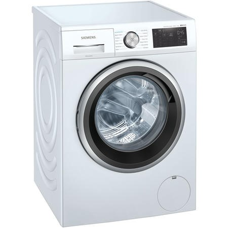Siemens WM14UQ91GB iQ500 9kg 1400rpm Freestanding Washing Machine - White