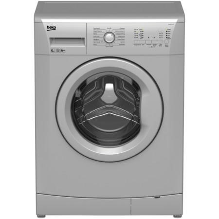 Beko WMB61222S 6kg 1200rpm Freestanding Washing Machine Silver