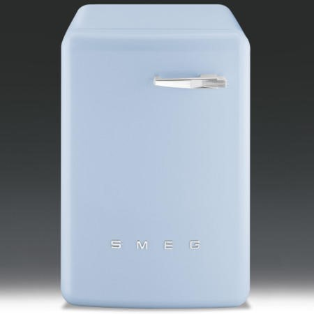 Smeg WMFABAZ1 50s Style 5kg 1600rpm Freestanding Washing Machine - Pastel Blue