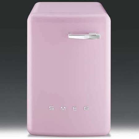 Smeg WMFABRO1 50s Style 7kg 1600rpm Freestanding Washing Machine -Pink