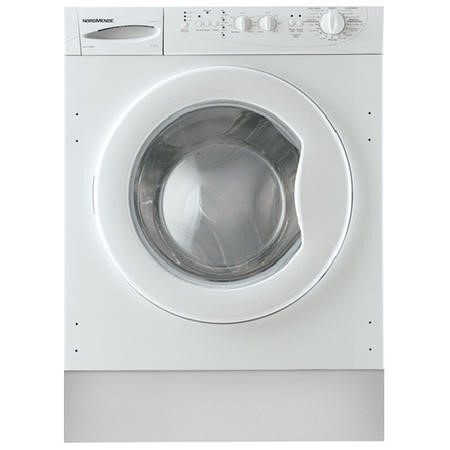 Nordmende WMI1271WH Integrated 7kg Washing Machine 1200 rpm A-Plus