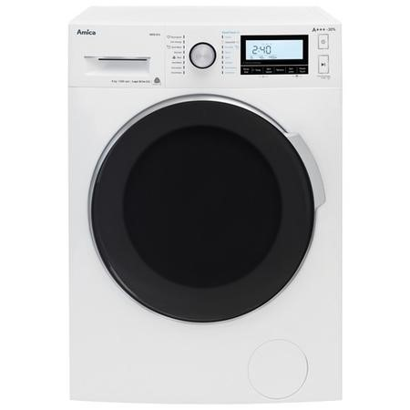 Amica WMS814 8kg 1400rpm Freestanding Washing Machine With Quiet Motor- AddPlus- and Steam - White