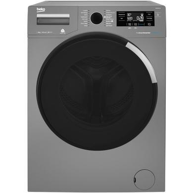 Beko WR84PB44DG 8kg 1400rpm Freestanding Washing Machine - Graphite