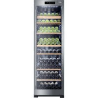 Haier WS151GDBI 151 Bottle Dual Control Wine Cooler