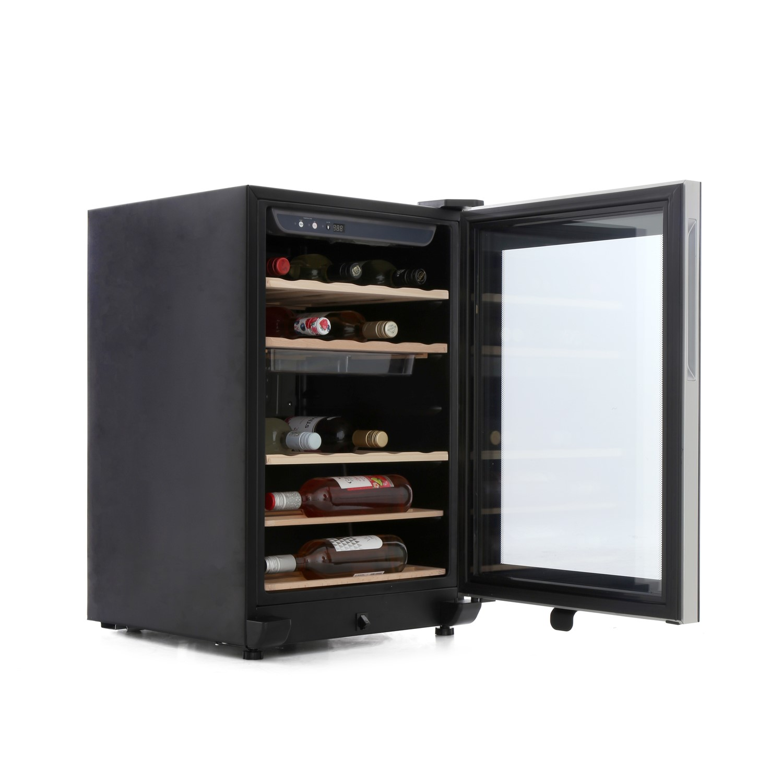 Grade A1 Haier Ws25ga 25 Bottle Wine Cooler Black