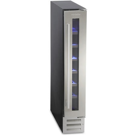 Montpellier WS7SDX 7 Bottle Wine Cooler - Stainless Steel
