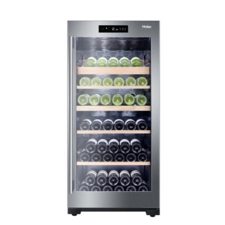 Haier WS92GDBI 92 Bottle Dual Control Wine Cooler