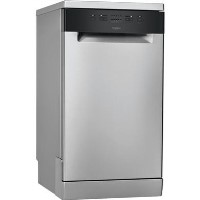 Whirlpool Slimline Freestanding Dishwasher - Stainless Steel Best Price, Cheapest Prices