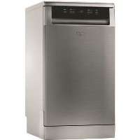 Whirlpool WSFE2B19X 10 Place Slimline Freestanding Dishwasher - Stainless Steel Best Price, Cheapest Prices