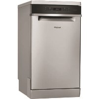 Whirlpool WSFO3T223PCX 7 Place Slimline Freestanding Dishwasher with Quick Wash - Stainless Steel Best Price, Cheapest Prices