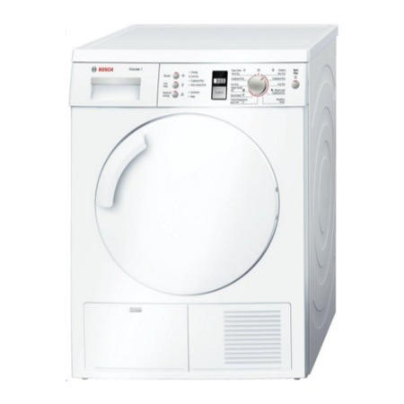 Bosch WTE84301GB Classixx 7kg Freestanding Condenser Tumble Dryer - White