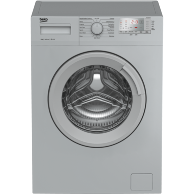 Beko WTG641M1S 6kg 1400rpm Freestanding Washing Machine - Silver