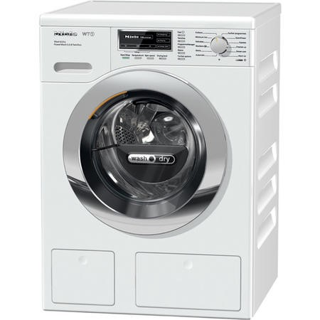 GRADE A1 - Miele WTH120WPS 7kg Wash 4kg Dry 1600rpm Freestanding Washer Dryer White