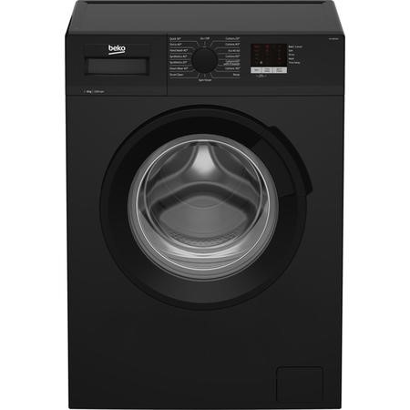 Beko WTL82051B 8kg 1200rpm Freestanding Washing Machine - Black