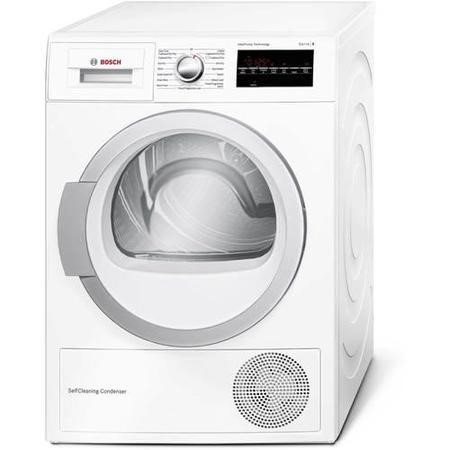 Bosch WTW85491GB Serie 6 8kg Freestanding Heat Pump Condenser Tumble Dryer White