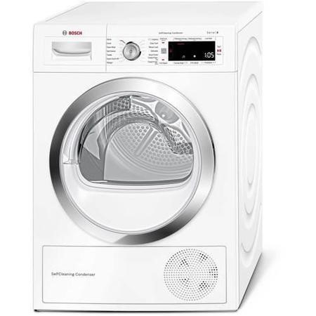 GRADE A2 - Bosch WTW87560GB 9kg A++ Freestanding Heat Pump Condenser Tumble Dryer - White