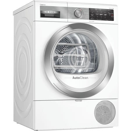 Bosch WTX88EH9GB Serie 8 9kg Freestanding Heat Pump Tumble Dryer - White