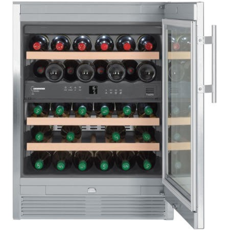 Liebherr WTes1672 Vinidor Double Zone Wine Cabinet With Glass Door