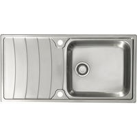 Astracast WW1050SXB Wave 1.0 Bowl Stainless Steel Sink