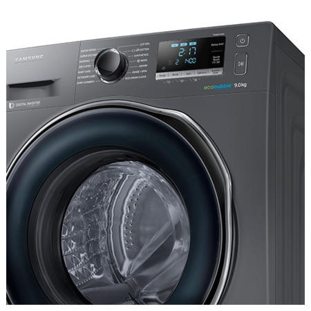Samsung WW90J6410CX EcoBubble 9kg 1400rpm Freestanding Washing Machine-Graphite