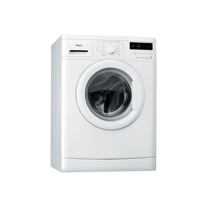 whirlpool wwdc9440 6th sense 9kg 1400rpm freestanding washing machine white appliances direct. Black Bedroom Furniture Sets. Home Design Ideas
