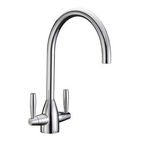 Taylor & Moore Como Inset Reversible Drainer 1.0 Bowl Stainless Steel Sink & Warwick Chrome Tap Pack