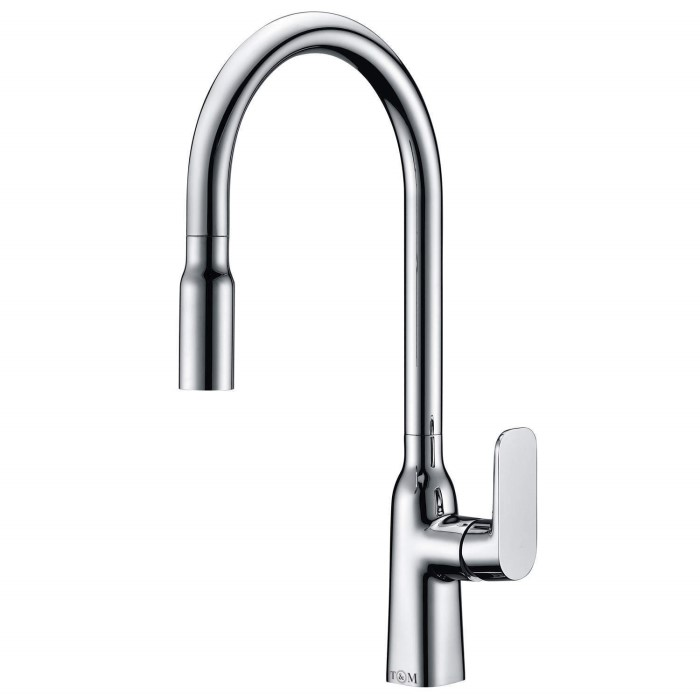 Taylor Moore Windermere Single Lever Chrome Monobloc Kitchen Tap