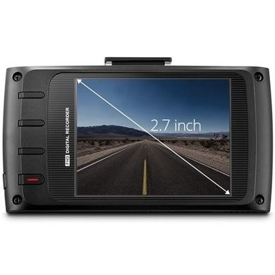 Thinkware X330 Full HD Dash Cam with 8GB Micro SD Card - In-Car Charger