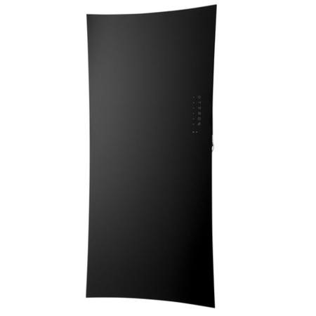 Black Glass Infrared Heating Panel - 1063 x 532mm