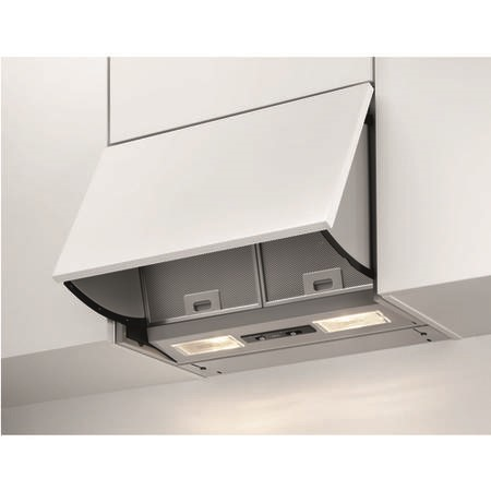 AEG X56342SE10 60cm Integrated Cooker Hood Grey