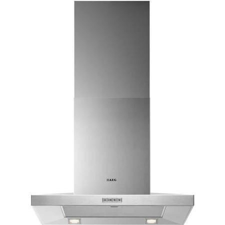 AEG X66163MK1 Low-profile Pyramid-style 60cm Chimney Cooker Hood Stainless Steel