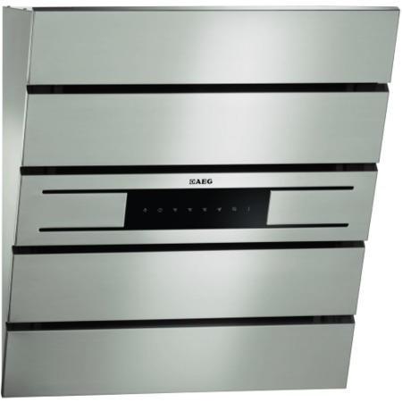 aeg x66454mv00 60cm angled cooker hood stainless steel. Black Bedroom Furniture Sets. Home Design Ideas
