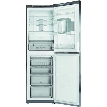Hotpoint XAL85T1IXWTD Extraspace Freestanding Fridge Freezer Bright Inox