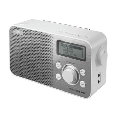 sony xdr s60d portable dab radio white xdr s60dbpw. Black Bedroom Furniture Sets. Home Design Ideas