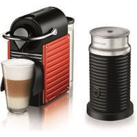 Krups XN301540 Nespresso Pixie Bundle Red