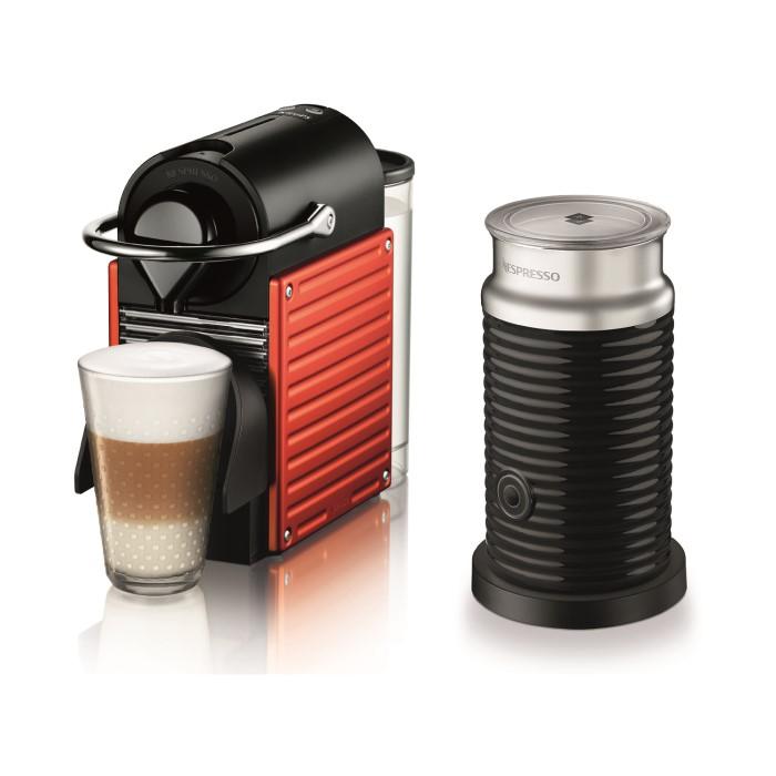 krups xn301540 nespresso pixie bundle red appliances direct. Black Bedroom Furniture Sets. Home Design Ideas