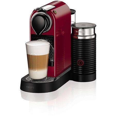 krups xn760540 nespresso citiz coffee machine and milk red appliances direct. Black Bedroom Furniture Sets. Home Design Ideas