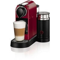Krups XN760540 Nespresso CitiZ Coffee Machine and Milk Red