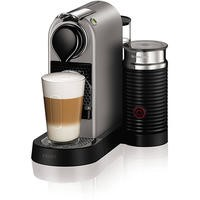 Krups XN760B40 Nespresso CitiZ Coffee Machine and Milk Titanium