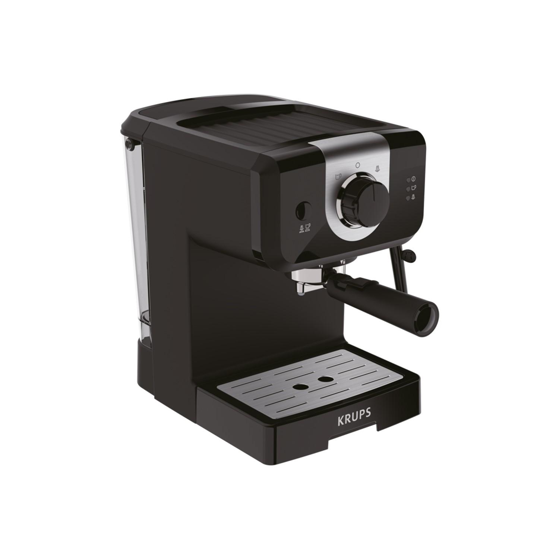 Krups Xp320840 Opio Steam Pump Espresso Coffee Machine Black
