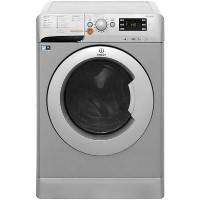Indesit XWDE751480XS 7kg Wash 5kg Dry 1400rpm Freestanding Washer Dryer-Silver