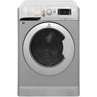 INDESIT XWDE751480XS 7kg Wash 5kg Dry 1400rpm Freestanding Washer Dryer-Silver