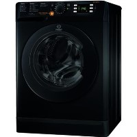INDESIT XWDE861480XK 8kg Wash 6kg Dry 1400rpm Freestanding Washer Dryer - Black
