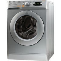 Indesit XWDE861480XS 8kg Wash 6kg Dry 1400rpm Freestanding Washer Dryer-Silver
