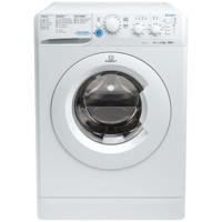 Indesit XWSC61251W Slim Depth White 6kg 1200rpm Freestanding Washing Machine